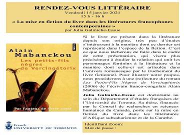 Alain Mabanckou : Les petits-fils nègres de Vercingétorix